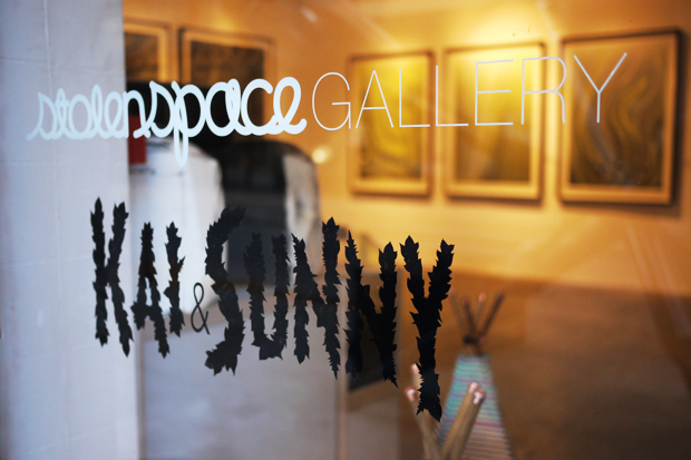 Kai Sunny at Stolen Space Gallery Events: Kai & Sunny   The Flower Show Exhibition