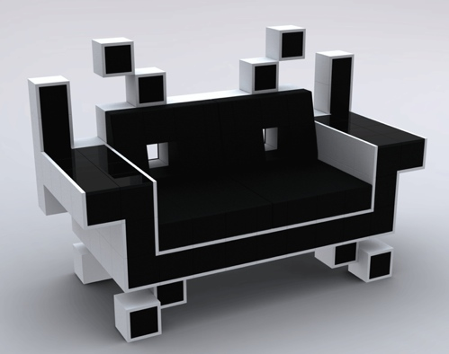 space invaders couch Discover: Igor Chak