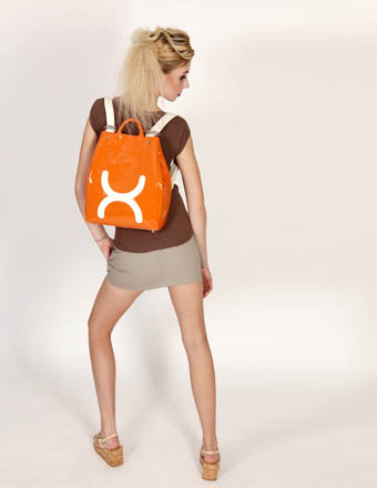 Roxie Orange Discover: RUXX Designer British Handbags & Rucksacks