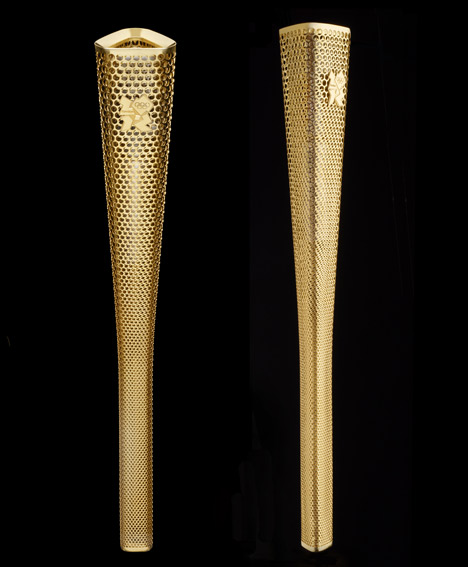 Torch London 2012 Olympic Torch DesignOlympic Torch